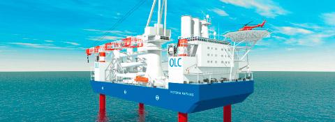 """Konstruktionsschiff """"Seabreeze"""", Deutschland - Offshore Montanhydraulik GmbH"""