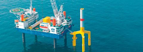 """Hubplattform """"Thor"""", Deutschland - Offshore Montanhydraulik GmbH"""