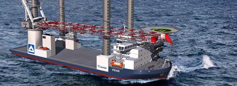 """Hubschiff """"Vidar"""", Deutschland - Offshore Montanhydraulik GmbH"""