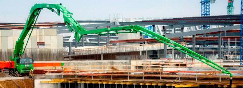 Betonpumpen - Spezialanwendungen Montanhydraulik GmbH