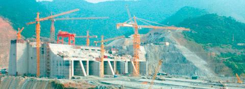 Staudamm Son La, Vietnam - Stahlwasserbau Montanhydraulik GmbH