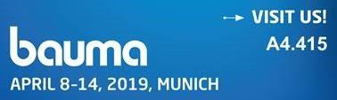 bauma 2019 Banner
